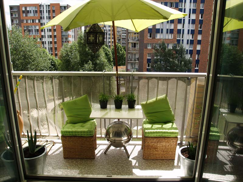 D co balcon fleuri - Decoration balcon terrasse appartement ...