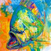 expressionist-dolphin-fish-mike-savlen