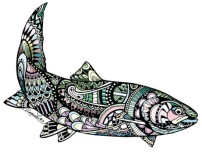 zentangle-steelhead